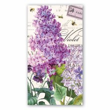 Lilac & Violets Hostess Napkin