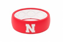 Original Silicone Ring Nebraska Red Size 12