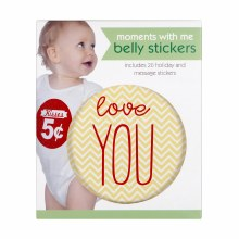 Moments With Me First Year Belly Stickers