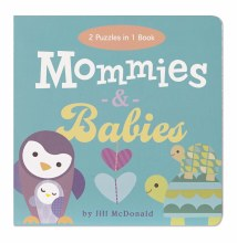Mommies & Babies Puzzle Play Book