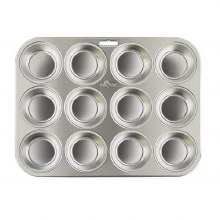 Muffin Pan S/s 12 Cup