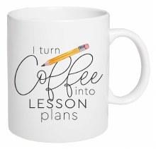 Mug Ceramic I Turn Coffee