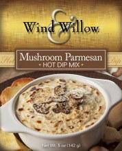 Hot Dip Mushroom Parmesan