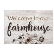 Box Welcome To Our Farmhouse