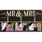 Clip Board - Mr. & Mrs.