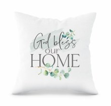 Pillow God Bless Our Home