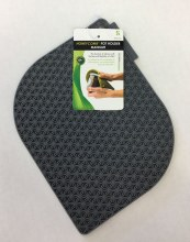 Honeycomb Potholder Met Gray