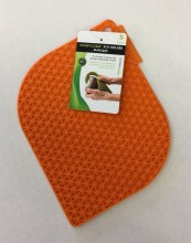 Honeycomb Potholder Orange