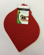 Honeycomb Potholder Red