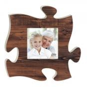 Puzzle Photo Small Faux Brown