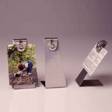 Recipe Card Holder Stainless Steel