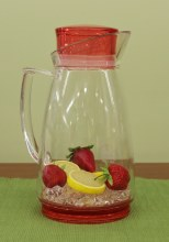Pitcher Red 64 Oz
