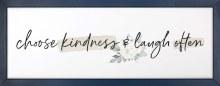 Choose Kindness Framed Art