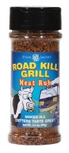 Road Kill Meat Rub Single Jar