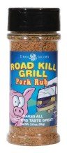 Road Kill Pork Rub Single Jar