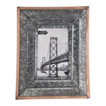 Rustic Tin Frame 4x6