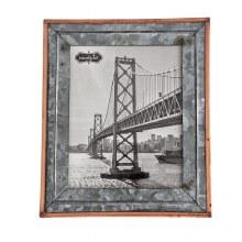 Rustic Tin Frame 8x10
