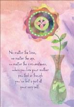 Card Sympathy Mother