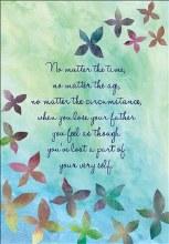 Card Sympathy Father