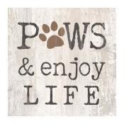 Block Square Paws And Enjoy Life