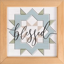 Blessed Patchwork Wall Art