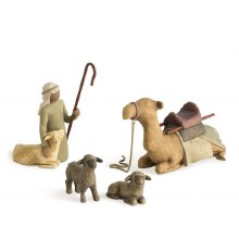 Shephard & Stable Animals 4 Pc