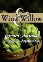 Cheeseball Spinach & Artichoke