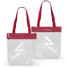 Zipper Stadium Tote - Nebraska