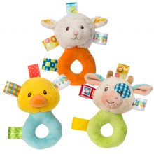 Taggies Barnyard Rattle Assorted