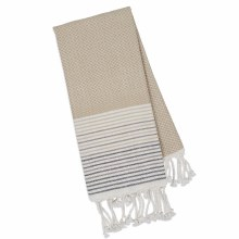 Taupe Diamond Fouta Towel