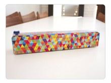 Chic Wrap Plastic Wrap Dispenser - Triangles