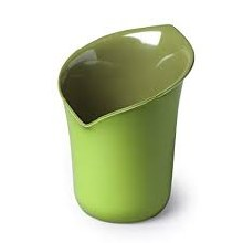 Calla Lily Utensil Pot Green