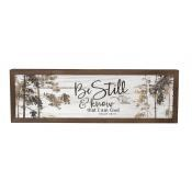 Farmhouse Frame - Be Still & Know
