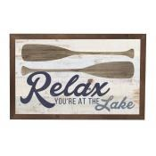Relax You're At the Lake Wall Art