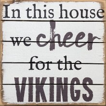 Box Sign - Vikings
