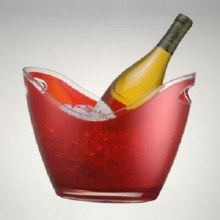 Wino Gondola Bucket 2 Bottle Red