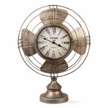 Vintage Fan Clock