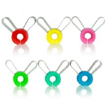 Rabbit 6 Clip-on Wine Charms