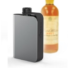 Rabbit Teathered Hip Flask