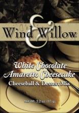 Cheeseball White Chocolate Amaretto Cheesecake