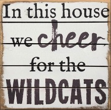 Box Sign - Wildcats