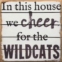 Box Sign - Wildcats