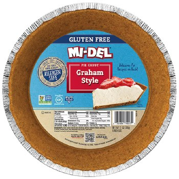 Graham Style Pie Crust Gluten Free 7oz