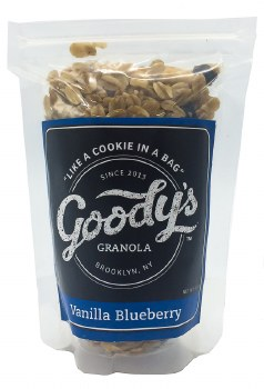 Vanilla Blueberry Granola 2oz