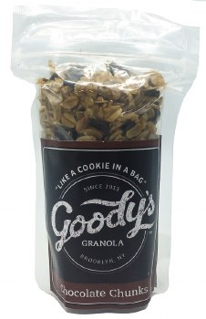 Chocolate Chunk Granola 2oz