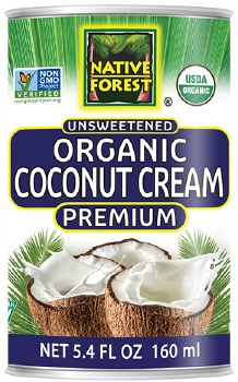 Organic Coconut Cream 5.4oz