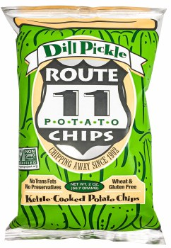 Dill Pickle Potato Chips 2oz