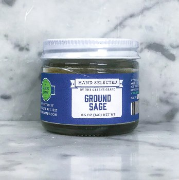 Sage, Ground 0.5oz