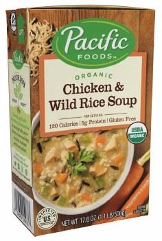 Chicken & Wild Rice Soup 17.6o