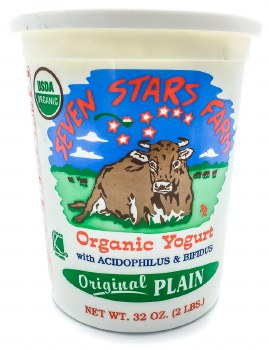 Seven Stars Plain Yogurt 32oz
